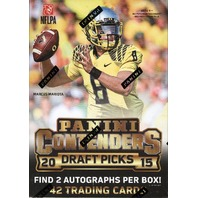2015 Panini Contenders Draft Picks Football Blaster Box (Sealed)