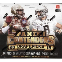 2015 Panini Contenders Draft Picks Football Hobby 12 Box Case (Sealed)