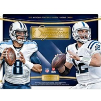 2015 Panini Donruss Signature Series Football Hobby Box (Sealed)