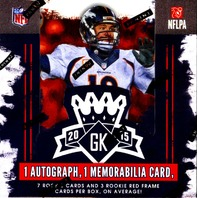 2015 Panini Gridiron Kings Football Box (Sealed)