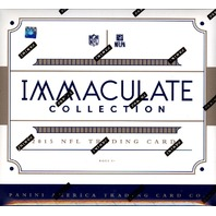 2015 Panini Immaculate Football Hobby Box (Sealed)