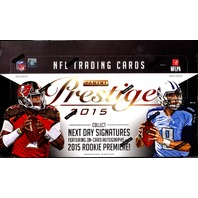 2015 Panini Prestige Football Hobby Box (Sealed)