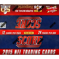 2015 Score Football 20 Box Case (Sealed)