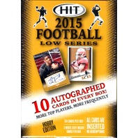 2015 Sage Hit Low Series Football Hobby 16 Box Case (Sealed)