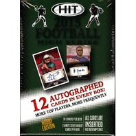 2015 Sage Hit High Series Football Hobby Box (Sealed)
