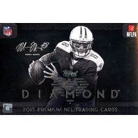 2015 Topps Diamond Football Hobby 6 Box Case (Sealed)