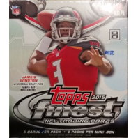2015 Topps Finest Football Hobby MINI Box (6 Packs)(Sealed)