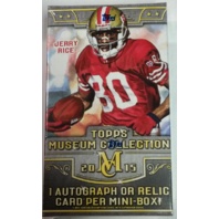 2015 Topps Museum Collection Football Hobby Mini Pack Box (Sealed) 1 Hit/Pack