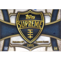 2015 Topps Supreme Football 8 Hobby Box Inner Case (Sealed)