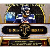 2015 Topps Triple Threads Football Hobby Box (Sealed)