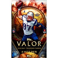 2015 Topps Valor Football Hobby Box (Sealed)