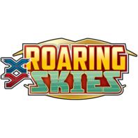 Pokemon TCG XY Roaring Skies Theme 8 Deck Box (4-Storm Rider/4-Aurora Blast)