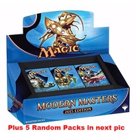 Magic the Gathering Modern Masters 2015 Edition Box + 5 Random Packs (Sealed)