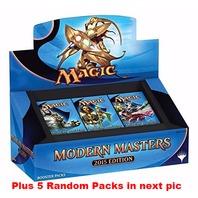Magic the Gathering Modern Masters 2015 Edition Box + 5 Random Packs (Sealed)