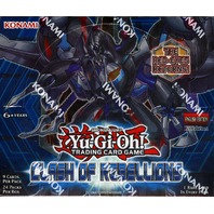 Yugioh Clash Of Rebellions 1st Edition Booster Box (Sealed)