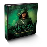 Arrow Season 2 Album Binder w/Exclusive Wardrobe Card (2015)(Cryptozoic)(Sealed)