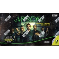 Arrow Season 2 Trading Cards 24 Pack Hobby Box (Cryptozoic)(2015)(Sealed)
