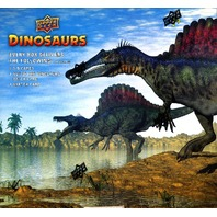 2015 Upper Deck Dinosaurs Hobby 8 Box Case (Sealed)