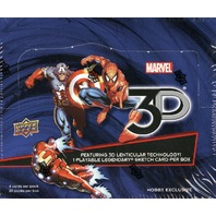 2015 Upper Deck Marvel 3D Trading Cards Exclusive Hobby Box (20 Pack s)(Sealed)