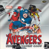 2015 Rittenhouse Marvel The Avengers Silver Age Trading Cards Hobby Box (Sealed)