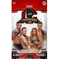 2015 Topps UFC Champions Hobby Box (Sealed)