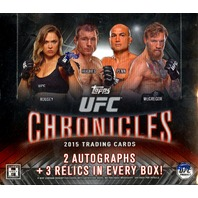 2015 Topps UFC Chronicles Hobby Box (Sealed)