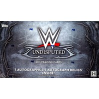 2015 Topps WWE Undisputed Wrestling Hobby Box (Sealed)