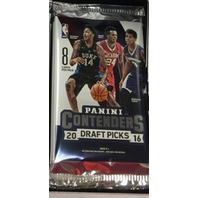 2016/17 Panini Contenders Draft Collegiate Basketball 8 Card Hobby Pack (Sealed)