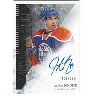Justin Schultz Edmonton Oilers 2013-14 Future Watch Rookie Autograph /999