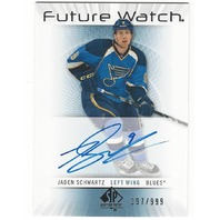 Jaden Schwartz St Louis Blues 2012-13 Future Watch Rookie Autograph /999