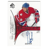 Yannick Weber Montreal Canadians 2009-10 Future Watch Rookie Autograph /999