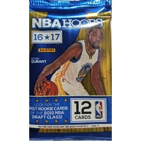 2016/17 Panini NBA Hoops Basketball 12 Card Hobby Pack (Sealed) (Random)