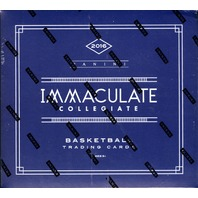 2016/17 Panini Immaculate Collegiate NCAA Basketball 6 Card Hobby Box/Pack (Sealed)