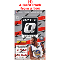 2016/17 Panini Donruss Optic Basketball Hobby 4 Card Pack (Sealed) (Random)