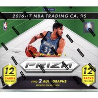 2016/17 Panini Prizm Basketball 12 Pack Jumbo Hobby Box (Sealed) 2016-17