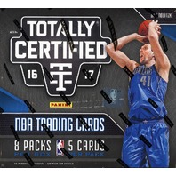 2016/17 Panini Totally Certified Basketball 8 Pack Hobby Box (Sealed)