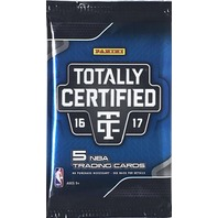 2016/17 Panini Totally Certified Basketball 5 Card Hobby Pack (Sealed)