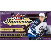 2016/17 Upper Deck UD Fleer Showcase Hockey Hobby 18 Pack Box (Sealed) 16/17