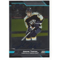 Jordin Tootoo Nashville Predators Bowman Chrome Rookie Certified Autograph /250