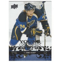 T.J. Oshie 2008-09 Upper Deck UD Young Guns YG Rookie 218 RC Washington Senators