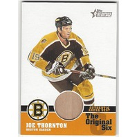 Joe Thornton 2001 Topps Heritage The Original Six Authentic Arena Seat #OSA-JT Bruins