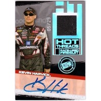KEVIN HARVICK 2006 Press Pass Premium Hot Threads Firesuit Auto Card 5/29