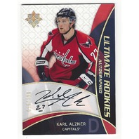 Karl Alzner Washington Capitals Ultimate Collection Hockey Autograph /399