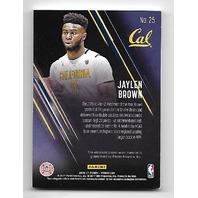 JAYLEN BROWN 2016-17 Panini Day NBA Galactic Window patch /25 California