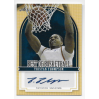 TRISTAN THOMPSON 11-12 Leaf Best of Basketball auto /TT1 Autograph