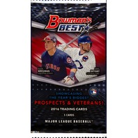 2016 Bowman's Best Baseball Hobby 5 Card Pack (Sealed)
