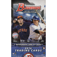 2016 Bowman Baseball Hobby Box (Sealed)