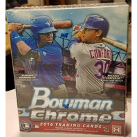 2016 Bowman Chrome Baseball Hobby 6 Pack MINI Box (Sealed)