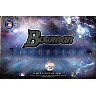 2016 Bowman Inception Baseball Hobby Box (Sealed)