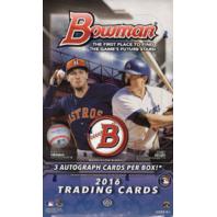 2016 Bowman Baseball Jumbo (HTA) Hobby Box (Sealed)